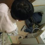 大垣市 タンクレス トイレ 取替中