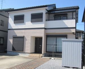 大垣市 カラーコーディネートで家も人もリフレッシュ 外壁塗装