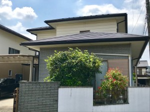 大垣市 軽量屋根への取替