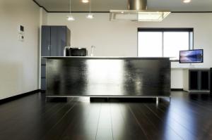 大垣市 あかり効果で演出するおしゃれなキッチン空間