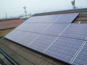 大垣市 太陽光発電システム設置